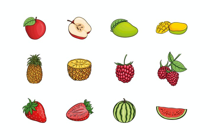Thumbnail for Fruits Illustration V.1