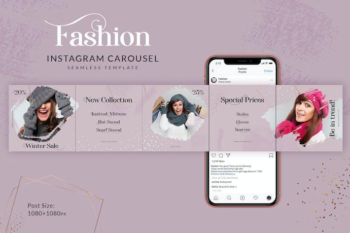 Thumbnail for Fashion Instagram Carousel