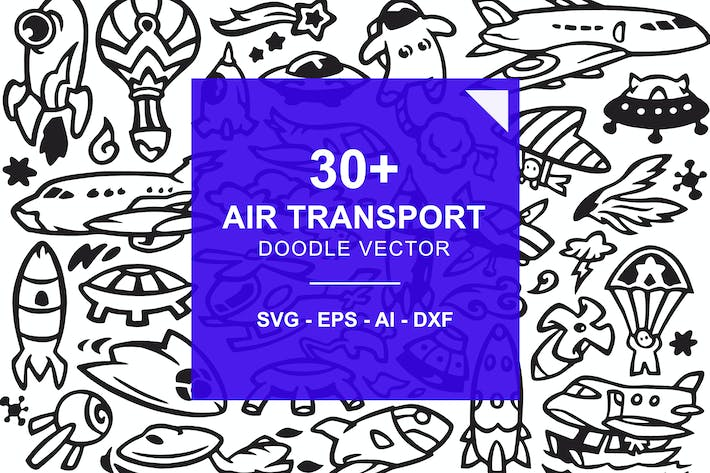 Thumbnail for Air Transportation Doodles