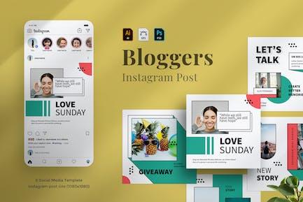 Bloggers Instagram post 04