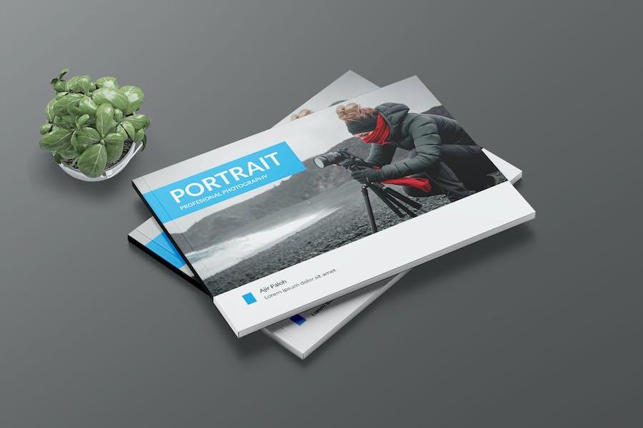 PORTRAIT - A5 Photography Print Template