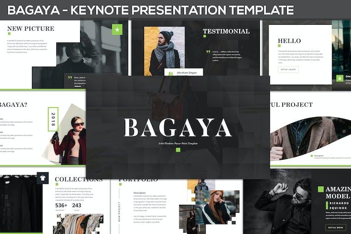 Thumbnail for Bagaya - Fashion Keynote Template