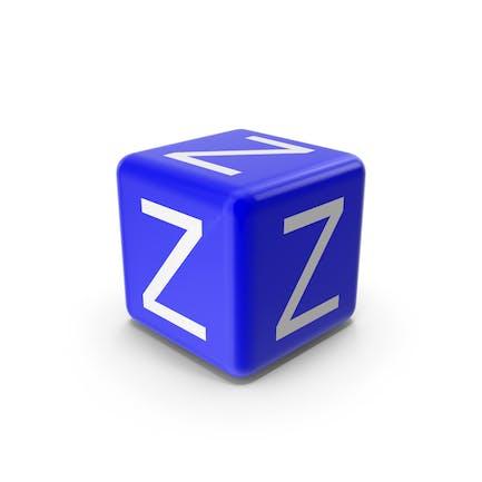 Bloque Z azul