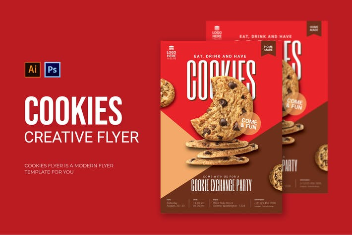 Thumbnail for Cookies - Flyer