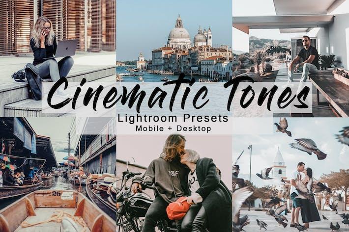 Thumbnail for Кинематографическая тона — набор Пресеты Lightroom
