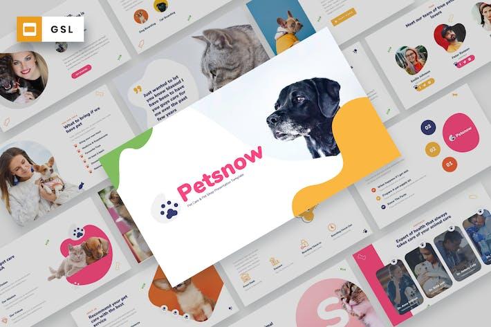Thumbnail for Petsnow - Уход за домашними животными Шаблон слайдов