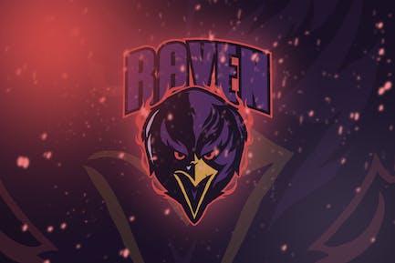Raven Esport Logo Vol. 1