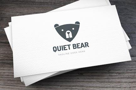 Quiet Bear Logo Template