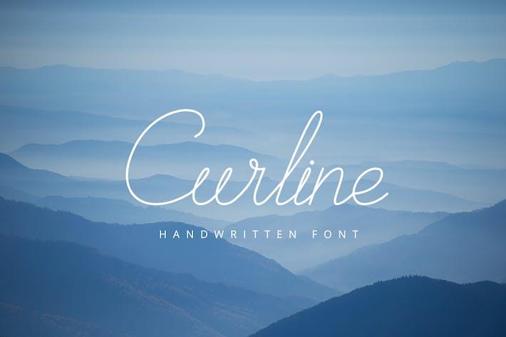 Thumbnail for Curline Handwritten Script