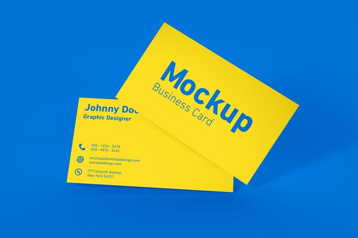 Thumbnail for Minimal Business Card Mockup