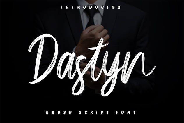 Dastyn - Brush Script Font