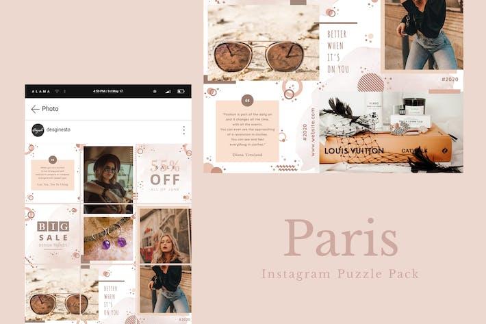 Thumbnail for Paris - Instagram Puzzle Pack