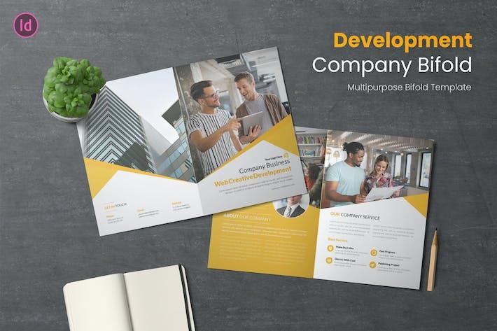 Thumbnail for Development Bifold Brochure