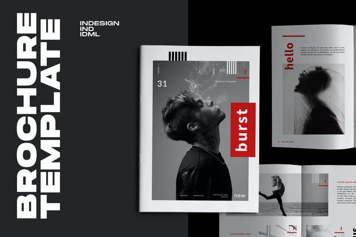 Thumbnail for Burst  - Urban Design Brochure Business Company