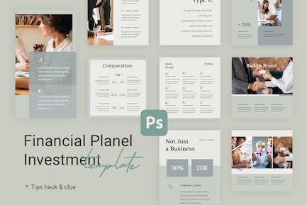 Tips & Tutorial Instagram Templates for Finance v2