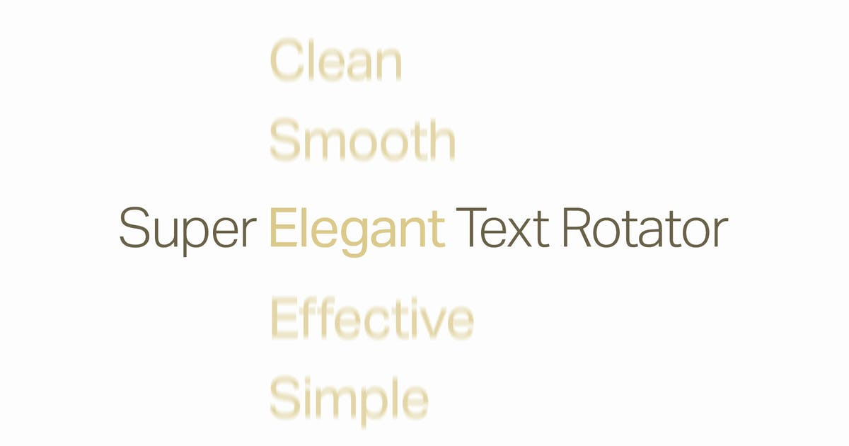 Download Simple Text Rotator WordPress Plugin by CurlyThemes