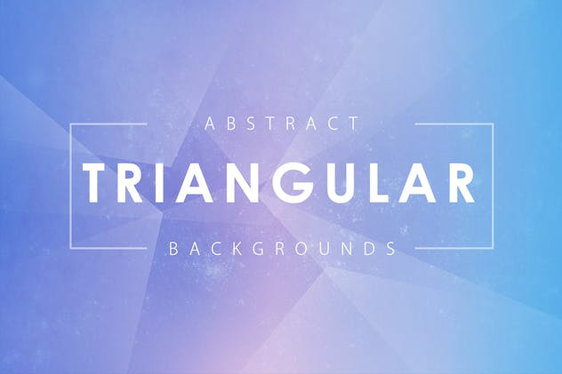 Abstract Triangular Backgrounds
