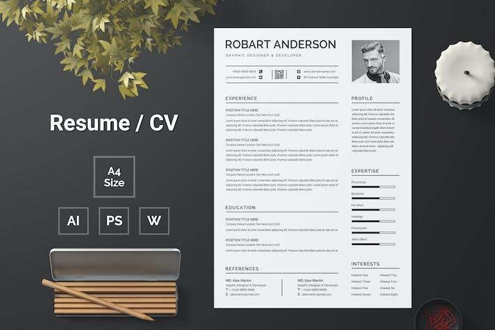 Resume Template 112