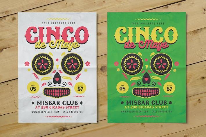 Thumbnail for Cinco De Mayo Flyer