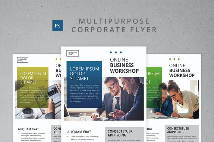 Cover Image For Multipurpose Corporate Flyer Template