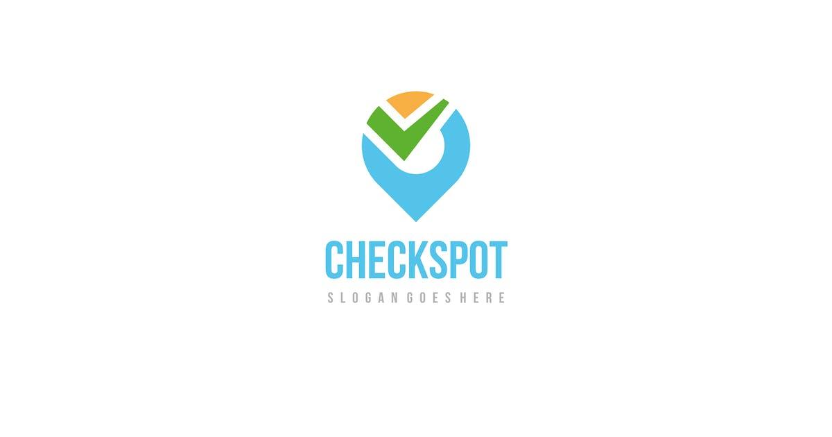 Download Check Spot Logo by 3ab2ou