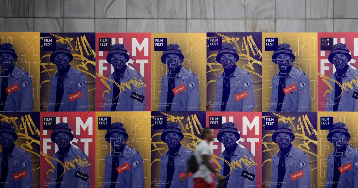 Download Wall Poster Mockup by helloDigi