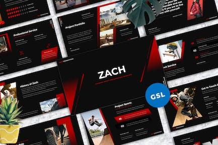 Zach - Extreme Sport Googleslide Templates