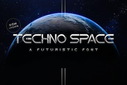 Polices futuristes Techno Space