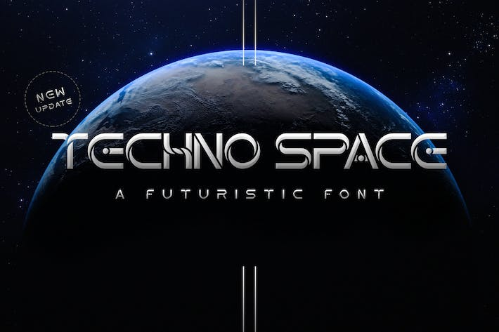 Thumbnail for Fuente Futurista Techno Space