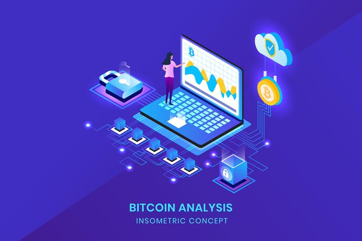 Thumbnail for Bitcoin Analysis - Insometric Vector