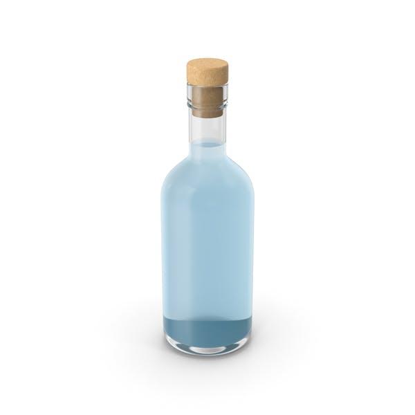 Бутылка сухого джина