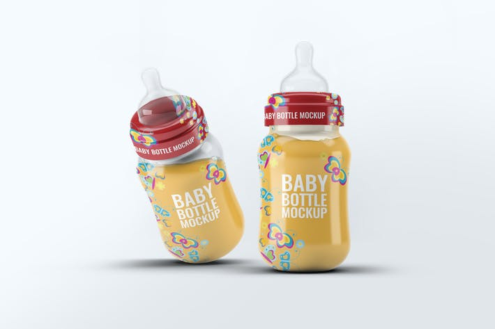 Thumbnail for Baby Bottle Mock-Up