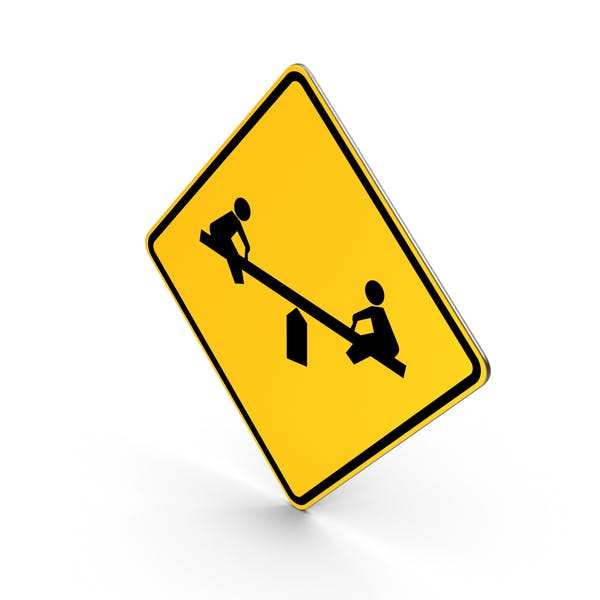 Playground Road Sign