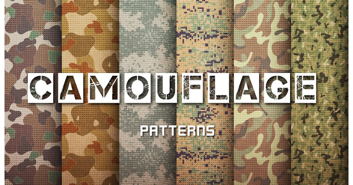 Download Camouflage Patterns Set by MastakA