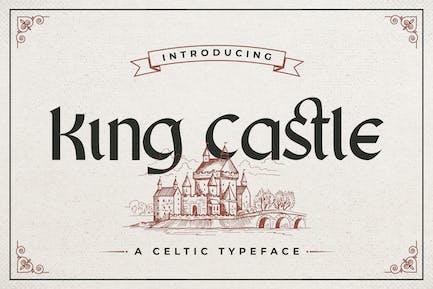 King Castle – Celtic Typeface