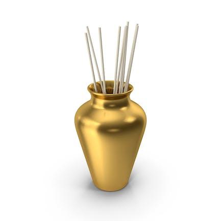 Decorative Pottery Gold