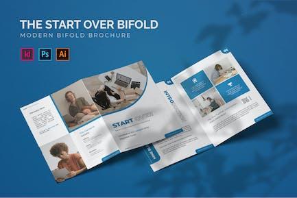 Start Over - Bifold Brochure