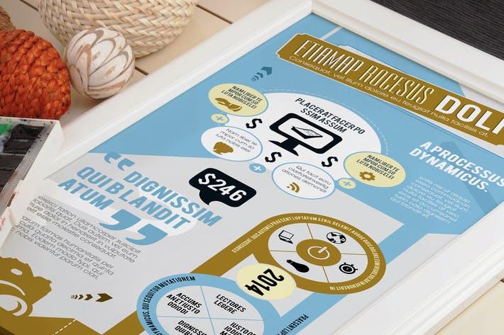 Thumbnail for Beautiful Infographics Template