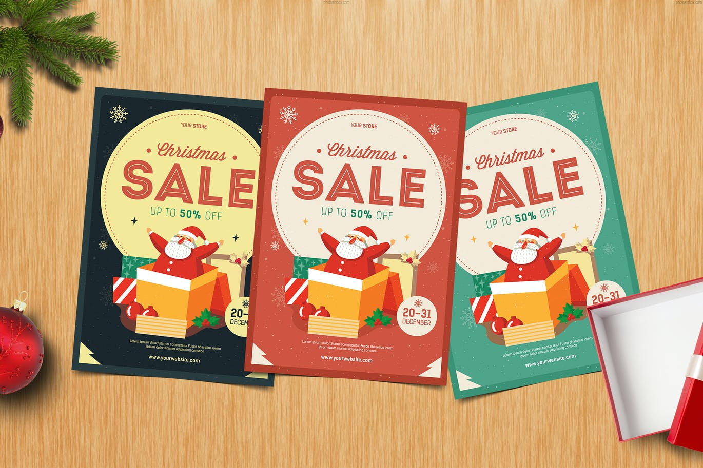 christmas flyer by guuver on envato elements christmas flyer