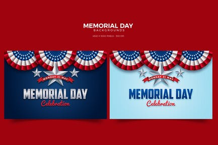 Memorial Day Card/Background