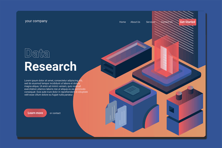 Data Analysist - Landing Page
