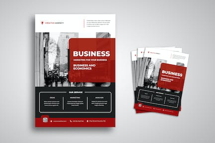 Business and Economic Flyer