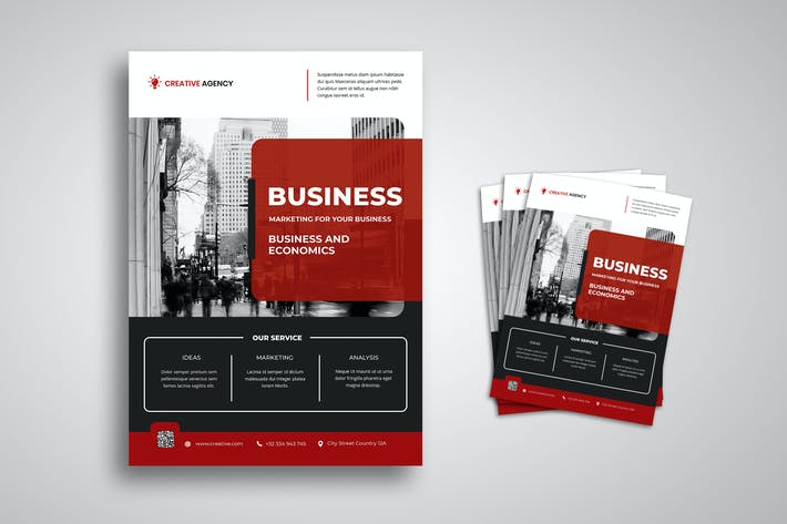 Thumbnail for Business and Economic Flyer
