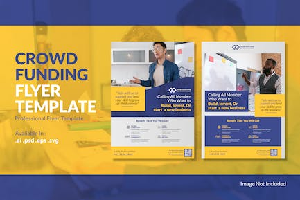 Crowdfunding Flyer Template