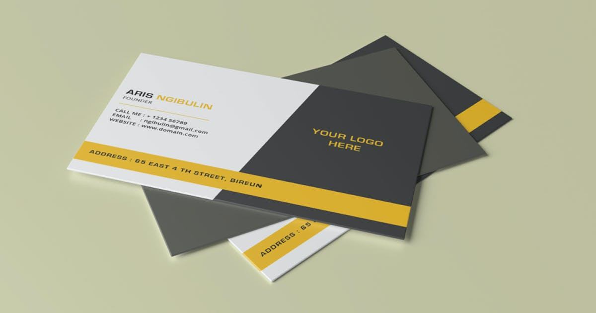 Download Business Card Mock-Up by alhaytar