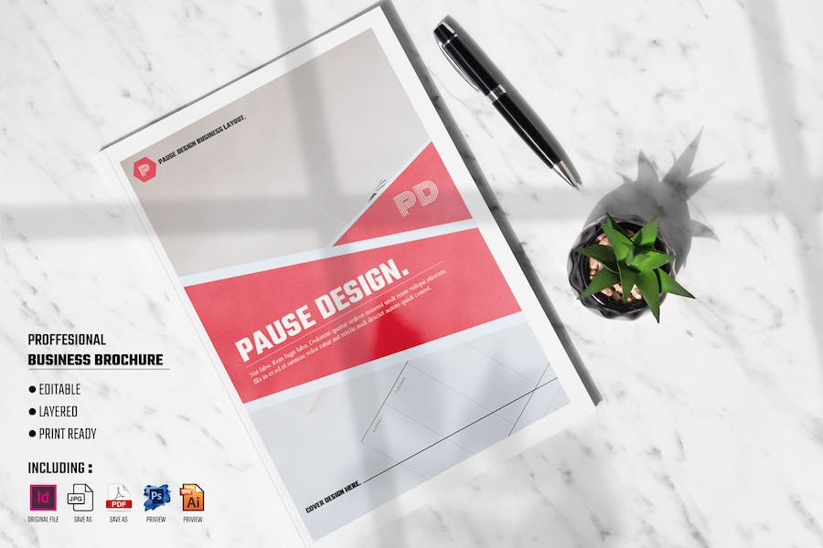 PAUSE - Professional Business Brochure Template