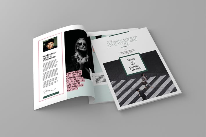 Thumbnail for Kruger - Magazine Template