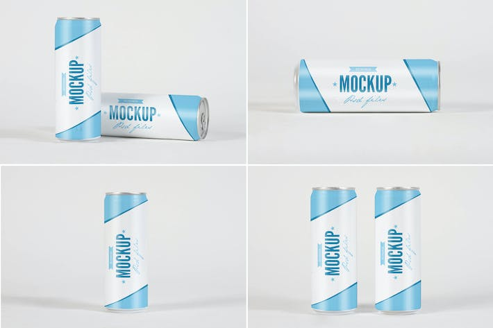 Thumbnail for Dripped Soda Can Mock Up