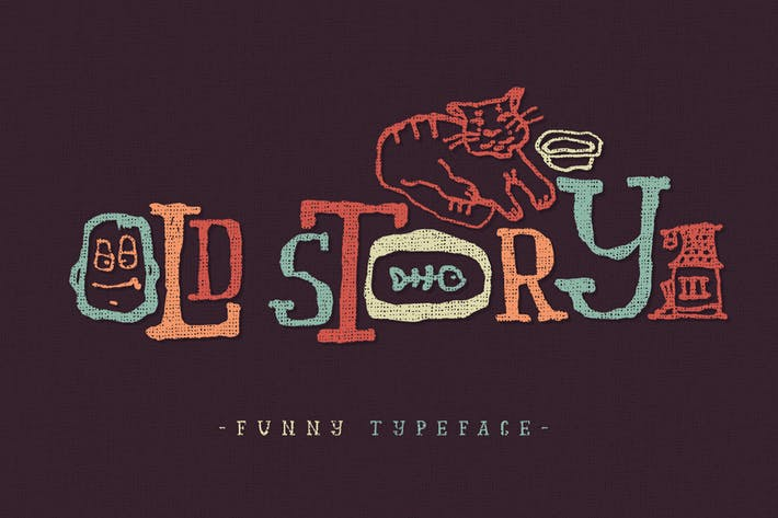 Thumbnail for Old story typeface