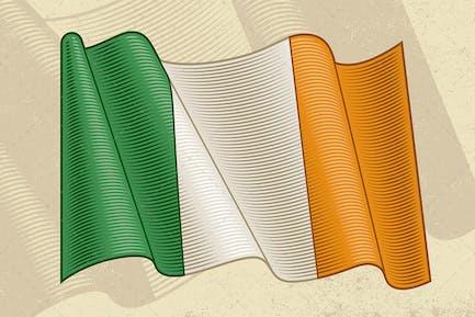 Vintage Flag Of Ireland